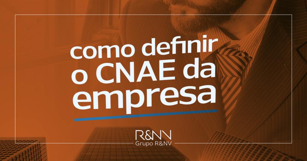 empresario decide como definir o CNAE da empresa