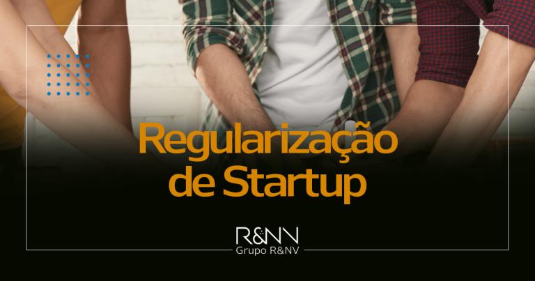 regularização de startup